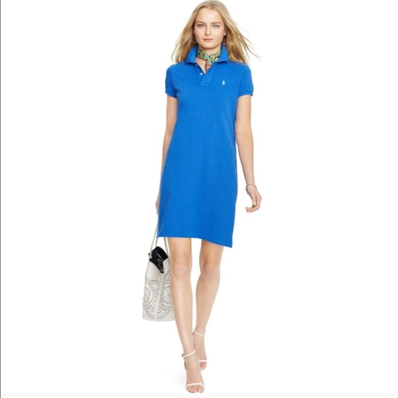 Ralph Lauren PINK Polo Shirt Dress Size Large